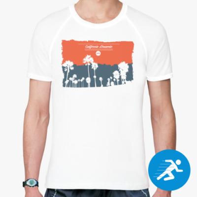 Спортивная футболка Город в Калифорнии (USA)