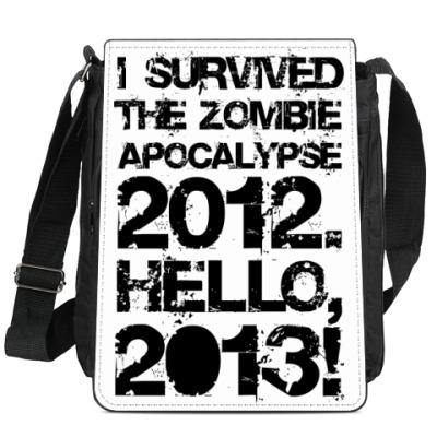 Сумка-планшет I survived 2012. Hello, 2013!