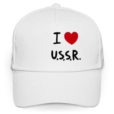 Кепка бейсболка I Love U.S.S.R.