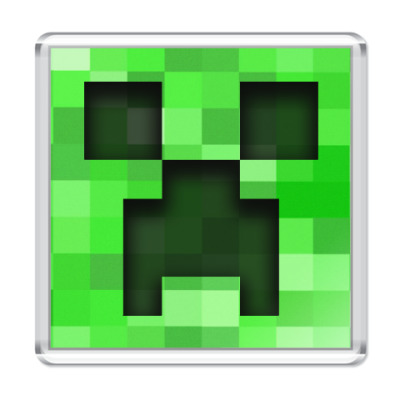 Магнит Minecraft Creeper