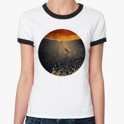 Женская футболка Ringer-T К солнцу