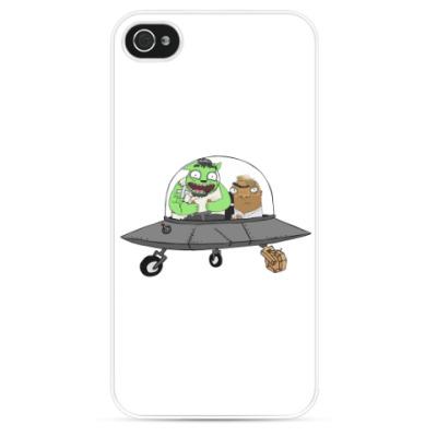 Чехол для iPhone Неопознаный Летающий Шамиль