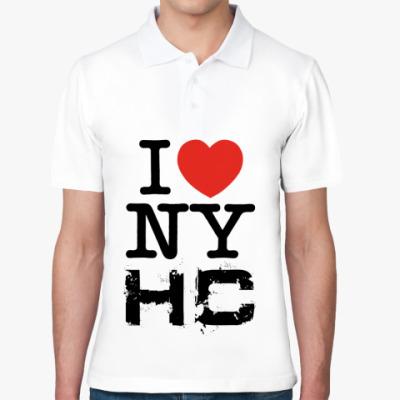 Рубашка поло  I love NYHC