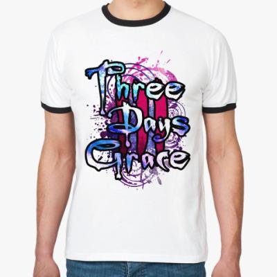 Футболка Ringer-T Three Days Grace