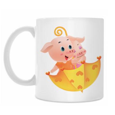 Кружка Piggy Lovers