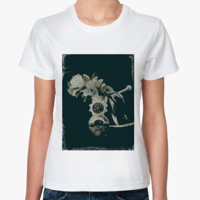 Классическая футболка Все прекрасное превращается в фарш