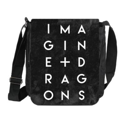 Сумка на плечо (мини-планшет) Imagine Dragons