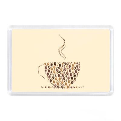 Магнит Кофе из кофейных зерен