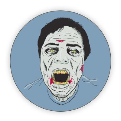 Костер (подставка под кружку) Зомби