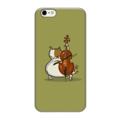 Чехол для iPhone 6/6s Пятничный Котик №24