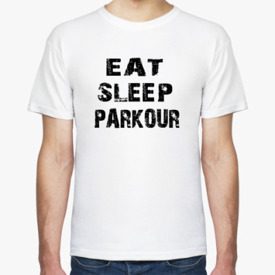Футболка Eat Sleep Parkour