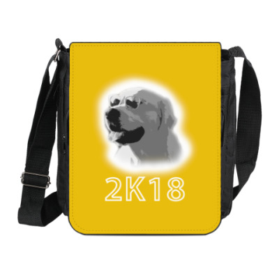 Сумка на плечо (мини-планшет) Год собаки