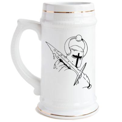 Пивная кружка Рыцарь