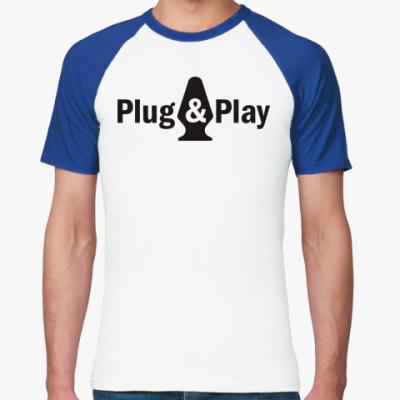 Футболка реглан Plug & Play
