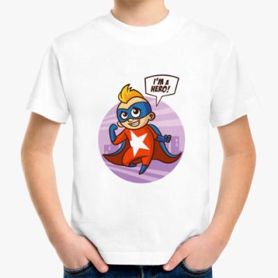 Детская футболка SUPERHERO