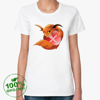 Женская футболка из органик-хлопка Chaos