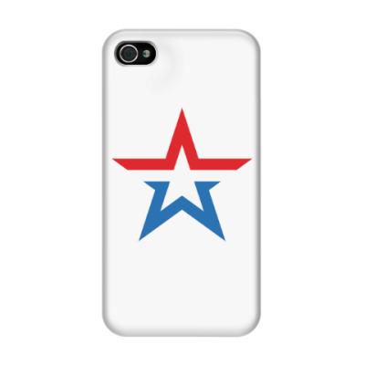 Чехол для iPhone 4/4s Армия России