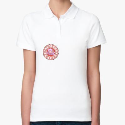 Женская рубашка поло TakoLuka cafe