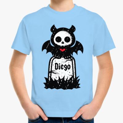 Детская футболка Диего Надгробие