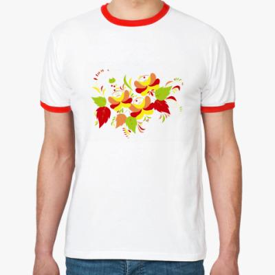 Футболка Ringer-T Flowers