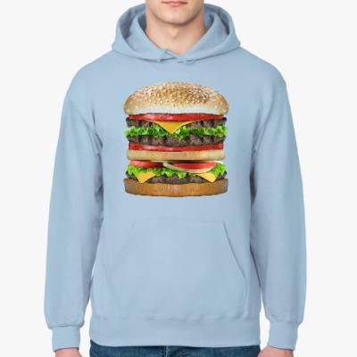 Толстовка худи Вкусняшка гамбургер