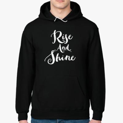 Толстовка худи Rise and Shine
