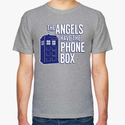 Футболка The Angels Have The Phone Box