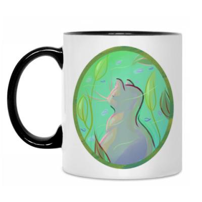 Кружка Нежный морской кот