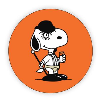Костер (подставка под кружку) Snoopy Clockwork Orange