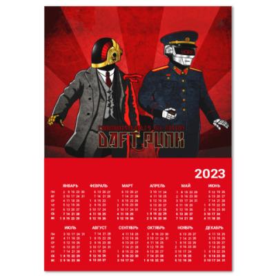 Календарь Daft Punk Propaganda