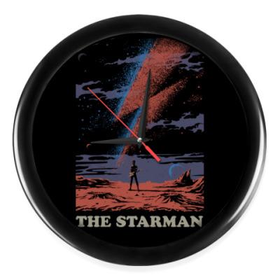 Настенные часы David Bowie Starman Дэвид Боуи