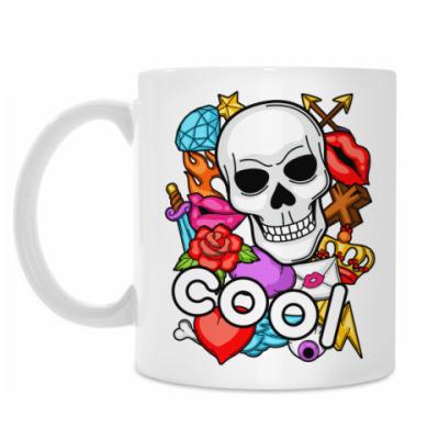 Кружка Cool Skull
