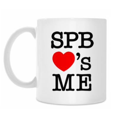 Кружка SPB Loves Me
