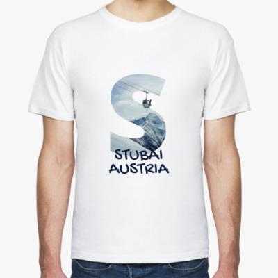 Футболка Горы, Штубай, Австрия