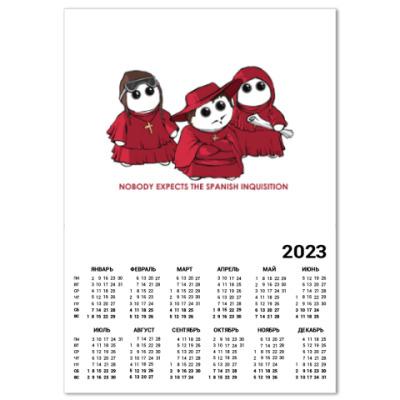 Календарь Monty Python ( Монти Пайтон )