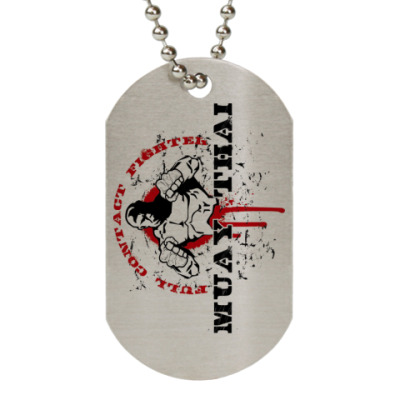 Жетон dog-tag Mauy Thai