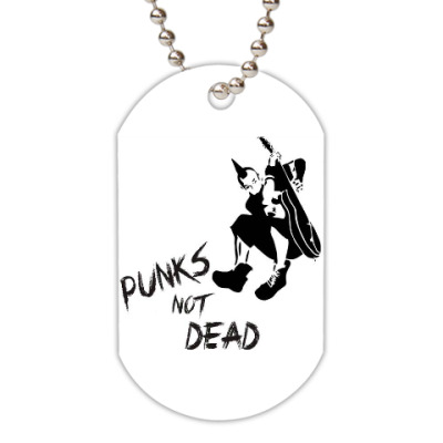 Жетон dog-tag Punks