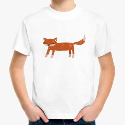 Детская футболка Лисичка