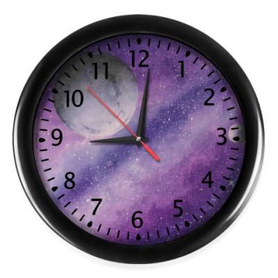 Настенные часы Часы в стиле Космос