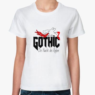 Классическая футболка Готика 2 Ночь Ворона