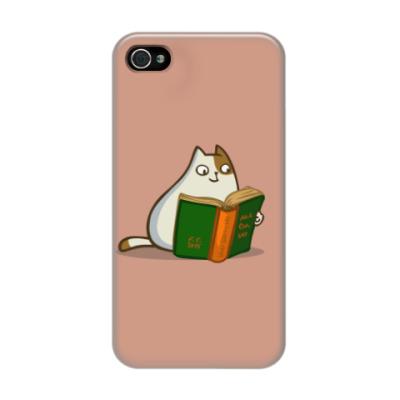 Чехол для iPhone 4/4s Пятничный Котик №19