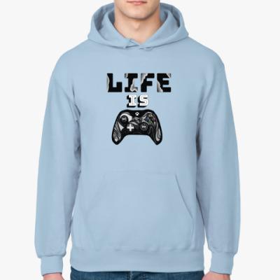 Толстовка худи Life is a game