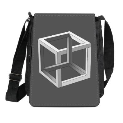 Сумка-планшет Невозможный Куб 3D