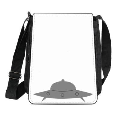 Сумка-планшет Летающая тарелка