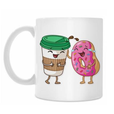 Кружка Coffee & Donut