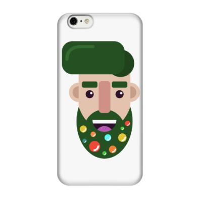 Чехол для iPhone 6/6s Елка-бородач