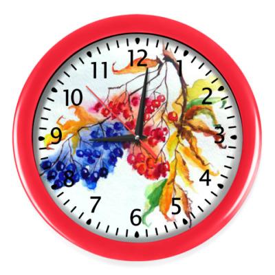 Настенные часы Осенний сад