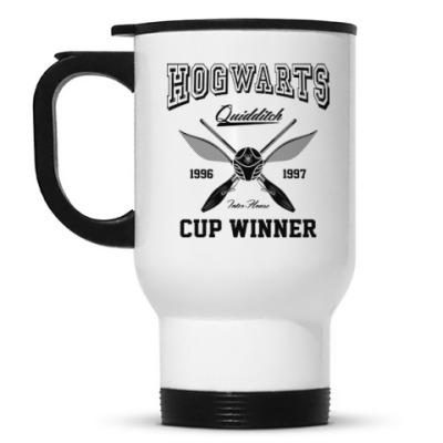 Кружка-термос Hogwarts Quidditch Cup Winner