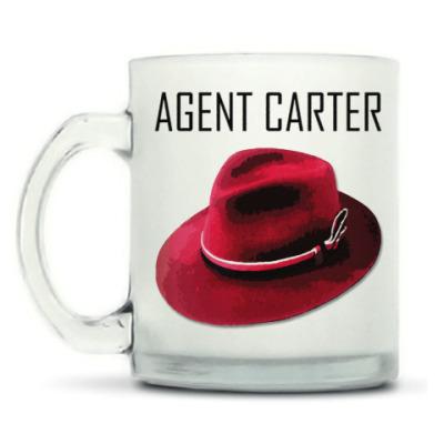 Кружка матовая Agent Carter
