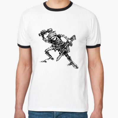 Футболка Ringer-T  Граната!